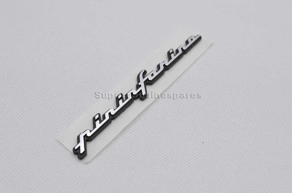 Genuine Maserati Pininfarina Emblem Part Badge Script 67729600 Brand New 1PC