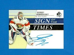 2019-20-SP-AUTHENTIC-SERGEI-BOBROVSKY-SIGN-OF-THE-TIMES-AUTOGRAPH-AUTO