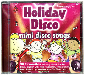 HOLIDAY-DISCO-Mini-Disco-Songs-CD-Kids-Favourites-NEW-amp-WRAPPED-FROM-PUBLISHER