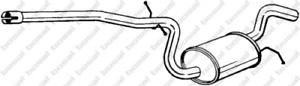 Mittelschalldämpfer für Abgasanlage BOSAL 281-453