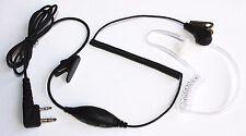 Earpiece Headset Mic 2 Pin for Kenwood HT-F6 TK2107/3107/3207/270/370/2100/270G
