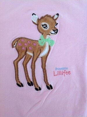 2019 Mode T-shirt Prinzessin Lillifee Rosa Reh L 128 134 140 Super Vertrieb Von QualitäTssicherung