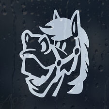 Smile Horse Funny Car Or Laptop Decal Vinyl Sticker For Window Bumper Body Panel