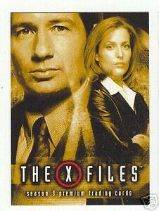 X Files Season 3 Promo Card P2
