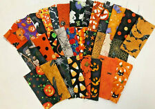 Halloween 32 Piece Charm Pack 5 Inch Squares Quilt Store Fabric Precut