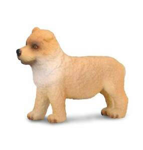 Action Figures Learned Chow Chow Cachorro 3,5 Cm Perros Y Gatos Collecta 88184