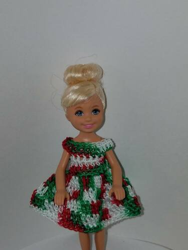 Hand crocheted Mattel Chelsea//Kelly Doll Clothes