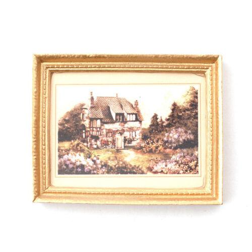 """DOLLS House 6221 immagine /""""Fattoria/"""" 1:12 per casa delle Bambole Nuovo #"""
