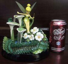 RARE Disney LE Tinkerbell Peter Pan Fairy Fountain Wishing Well Figure Statue