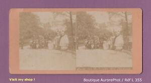 STEREO-VIEW-VUE-STEREO-PARIS-FEMMES-amp-ENFANTS-HABITUES-DES-JARDINS-L355