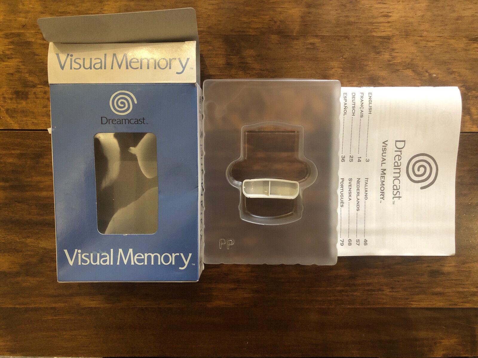 SEGA Dreamcast Visual Memory Box Only. Good Condition