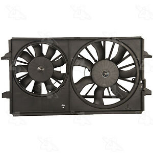 Radiator And Condenser Fan Assy Four Seasons 75614