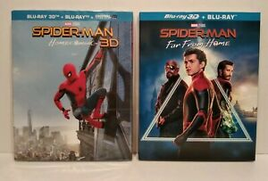 Marvel-Spider-Man-Homecoming-Spider-Man-Far-From-Home-Lot-2-Blu-Ray-3D