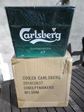 Carlsberg Ice Bucket Galvanized Metal Cooler 2014