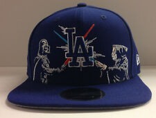 Los Angeles Dodgers LA New Era MLB 9FIFTY Star Wars Dual Snapback Hat Cap
