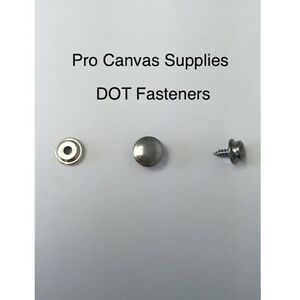 """DOT Durable Stainless Steel #10 Screw Stud 3//8/"""" 75 Pieces"""