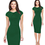 Elegant-Women-Office-Formal-Business-Work-Party-Sheath-Tunic-Pencil-Mini-Dresses thumbnail 15