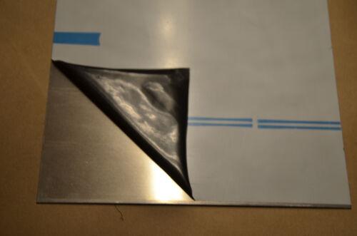 ALU Blech 1,0mm AlMg3 Aluminium Blech 1000x1000x1mm einseitig foliert
