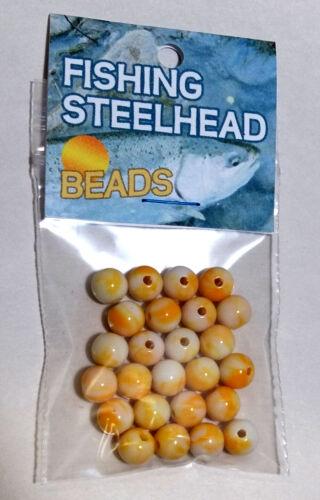 Buttered Popcorn 8 MM TROUT AND SALMON STEELHEAD FISHING STEELHEAD BEADS