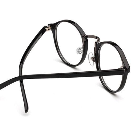 Vintage Men Women Eyeglass Frame Glasses Round Spectacles Clear Lens Eyewear New