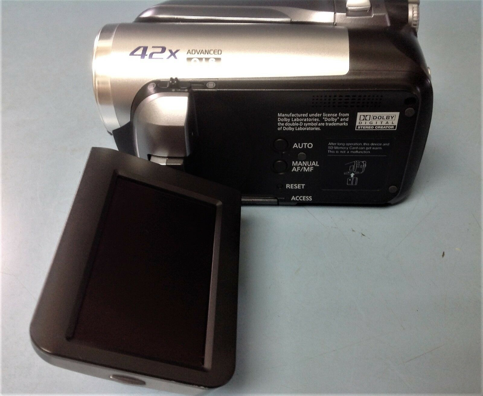 panasonic sdr h40 40 gb hard drive camcorder ebay rh ebay com panasonic hdd camcorder 42x manual