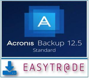 Acronis Backup 12.5 Standard Workstation ESD Dauerlizenz per Mail
