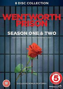 WENTWORTH-PRISON-the-complete-season-series-one-1-amp-two-2-8-discs-New-DVD