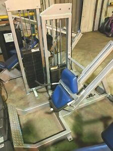 FitKing-SEATED-CALF-RAISE-45-Degree-Weight-Stack-Gym-Exercise-Fitness-Machine