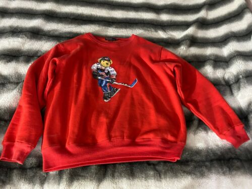 Polo Ralph Lauren Hockey Bear Sweater - M