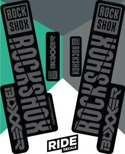 RockShox Revelation 2018 Style Sticker Decal Sets DH Enduro Orange