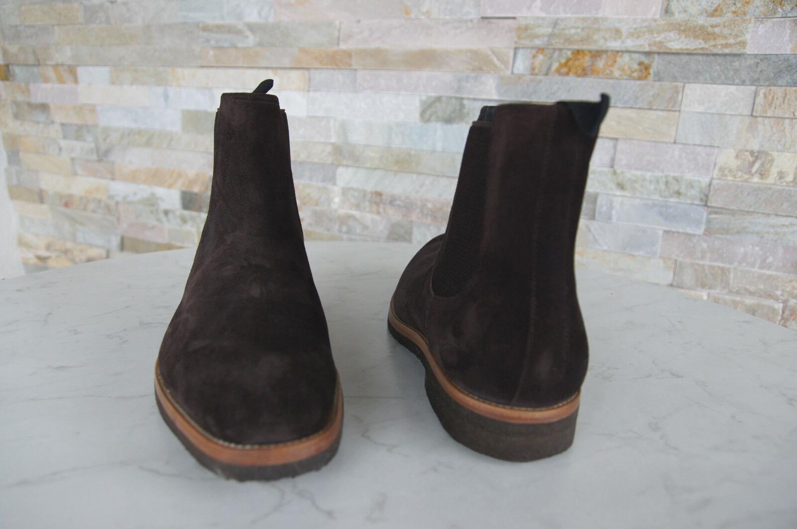 MORESCHI Gr 43  Schuhe 9 Stiefeletten Boots Stiefel Schuhe  40386 braun NEU 071604