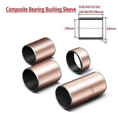 10pcs SF-1 Self Lubricating Composite Bearing Bushing Sleeve 10 x 12 x 20mm Z3U1