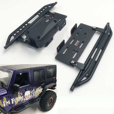 Aluminum alloy side anti-Guard Plate foot pedal for AXIAL SCX10 1:10 RC Crawler