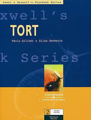 1 of 1 - Tort, Silas Beckwith, Paula Giliker, New Book