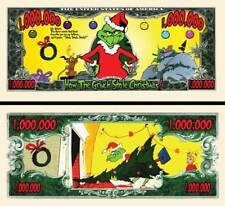 Le GRINCH - BILLET MILLION DOLLAR US! Collection NOËL Dr Seuss Dessin Animé Film