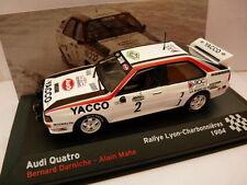 voiture 1/43 IXO altaya Rallye France : AUDI quattro 1984 DARNICHE