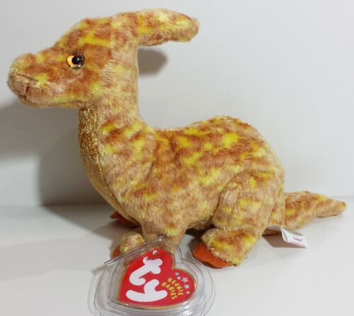 """NEW! TY Beanie Babies /""""TOOTER/"""" the DINOSAUR PERFECT GIFT RETIRED A MUST HAVE"""