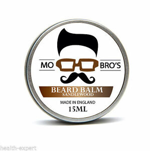Mo-Bro-039-s-Sandalwood-Beard-Conditioning-Balm-15ml-Made-In-England