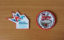 2 Badges: 23rd World Scout Jamboree 2015 (Japan) UK & Southeast Region IST/JPT