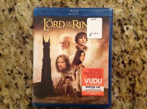 The-Lord-of-the-Rings-The-Two-Towers-Blu-ray-DVD-2010-2-Disc-NEW-Authentic-US