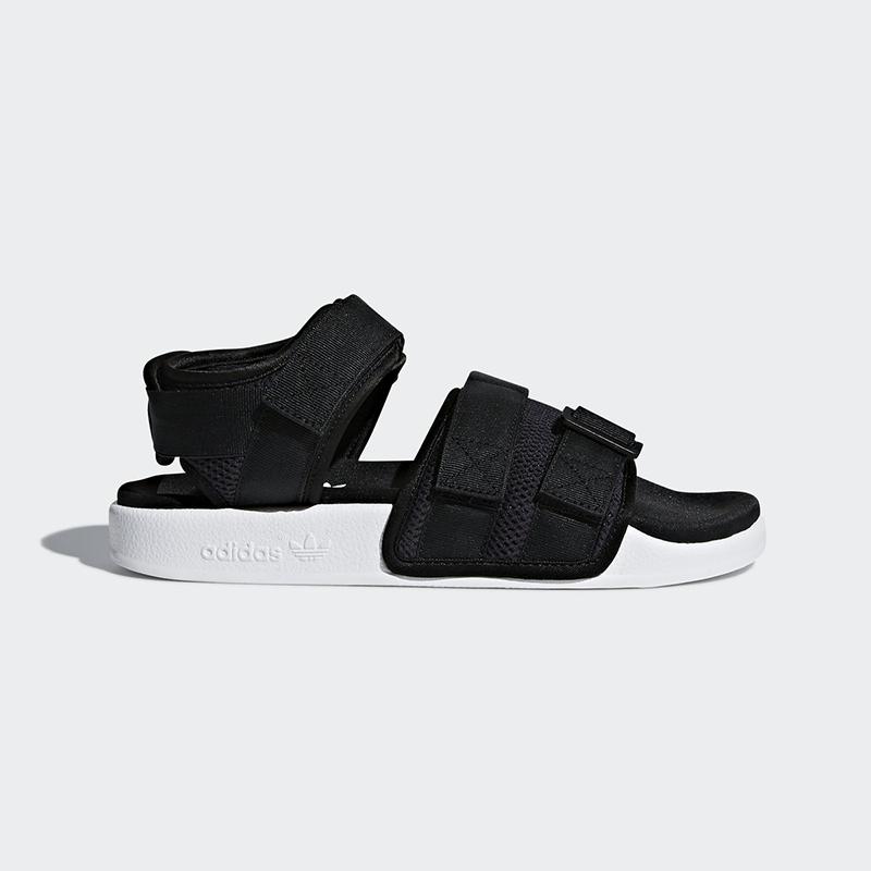 Nuovi Adidas Original  donna ADILETTE SANDAL AC8583 nero  BIANCE US W 5 - 10 TASSE  economico e di alta qualità