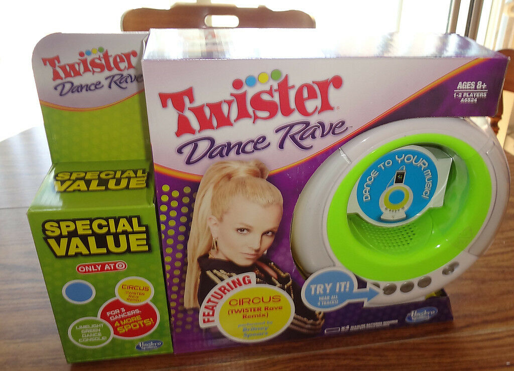 Twister Dance Rave Game – Brand New