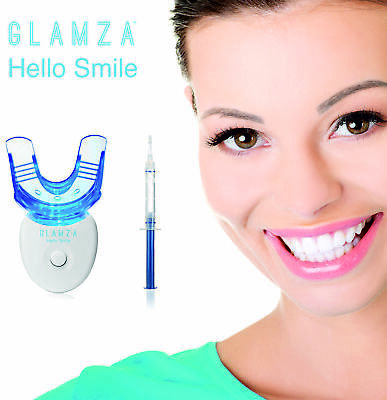 Hi Smile Teeth Whitening Kit Led Laser Light Mouth Tray Dental