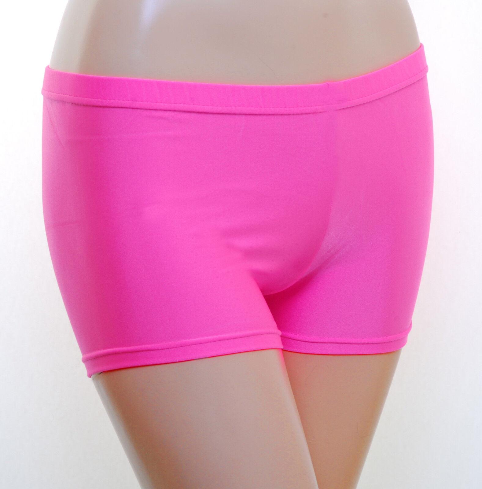 Hot Pants Lycra - (Flo Colours)