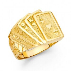 Mens gold poker ring top poker sites for android