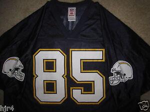 41b1bcfe8cf Antonio Gates #85 San Diego Chargers NFL Football Jersey XL mens | eBay
