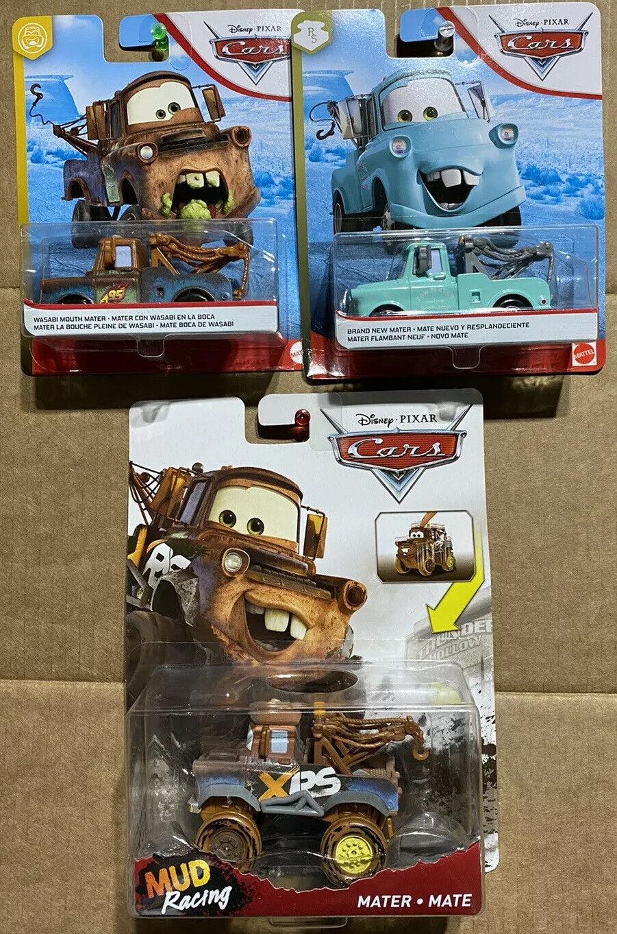 Disney Pixar CARS 2 Movie 5 Inch Talking Plush Crash Ems Mater