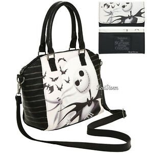 Nightmare Before Christmas Purses Handbags.Details About Loungefly Disney The Nightmare Before Christmas Satchel Bag Purse Wallet Nwt