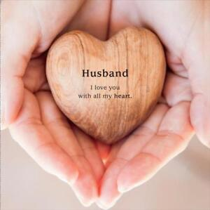 Husband I Love You With All My Heart Happy Valentine S Day New Card Ebay