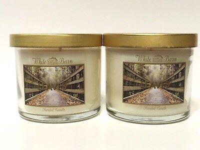 Bath /& Body Works White Barn Canvas Mini Tote Candle Gift Bag Metallic Gold NEW